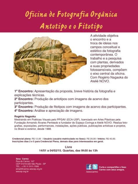 Filipeta Antotipo e o Fitotipo